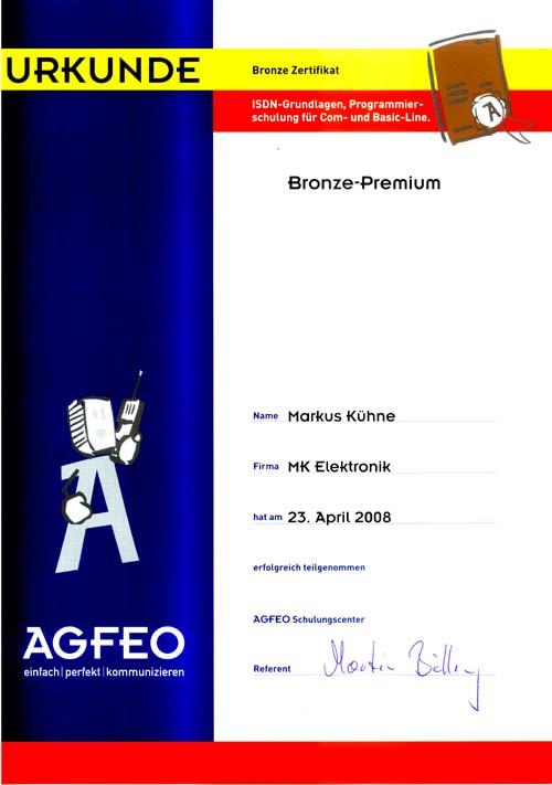 Agfeo Bronze